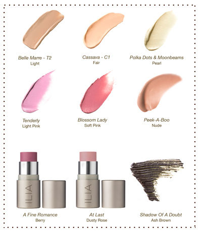 BARELY THERE SWATCHES