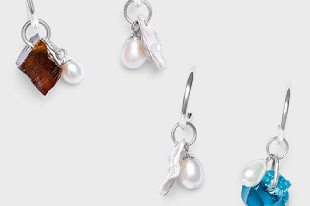 Hannah rings earrings