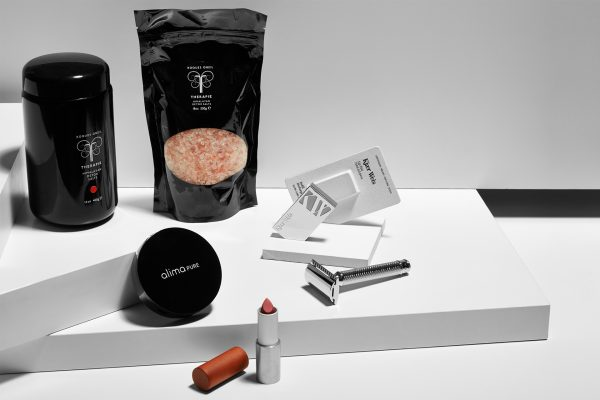 Refillable beauty products for going zero waste available at organic makeup london shop CONTENT Beauty & Wellbeing