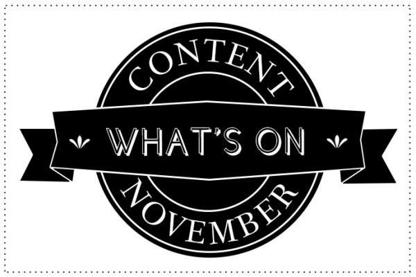 WHATS ON NOV