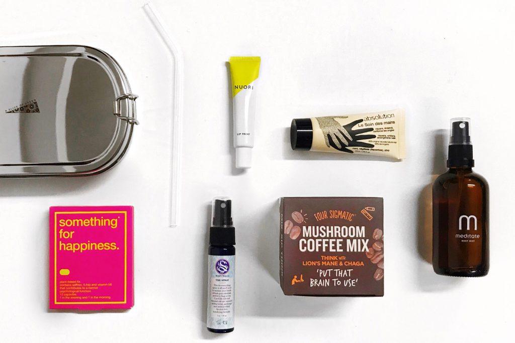 healthy office desk essentials