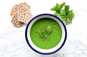 GET THE RECIPE: Green Soup for a Gentle Detox by Radiance Cleanse