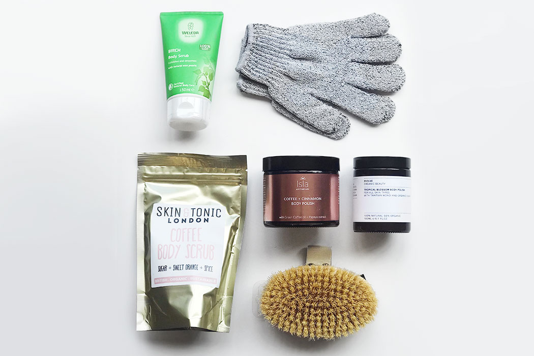 natural and organic body scrubs