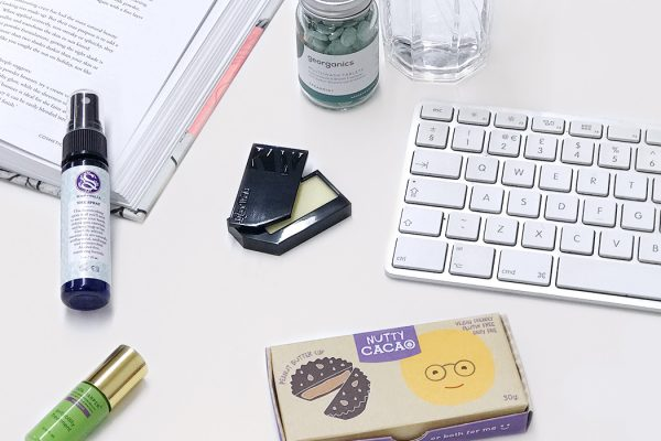 healthy office desk essentials