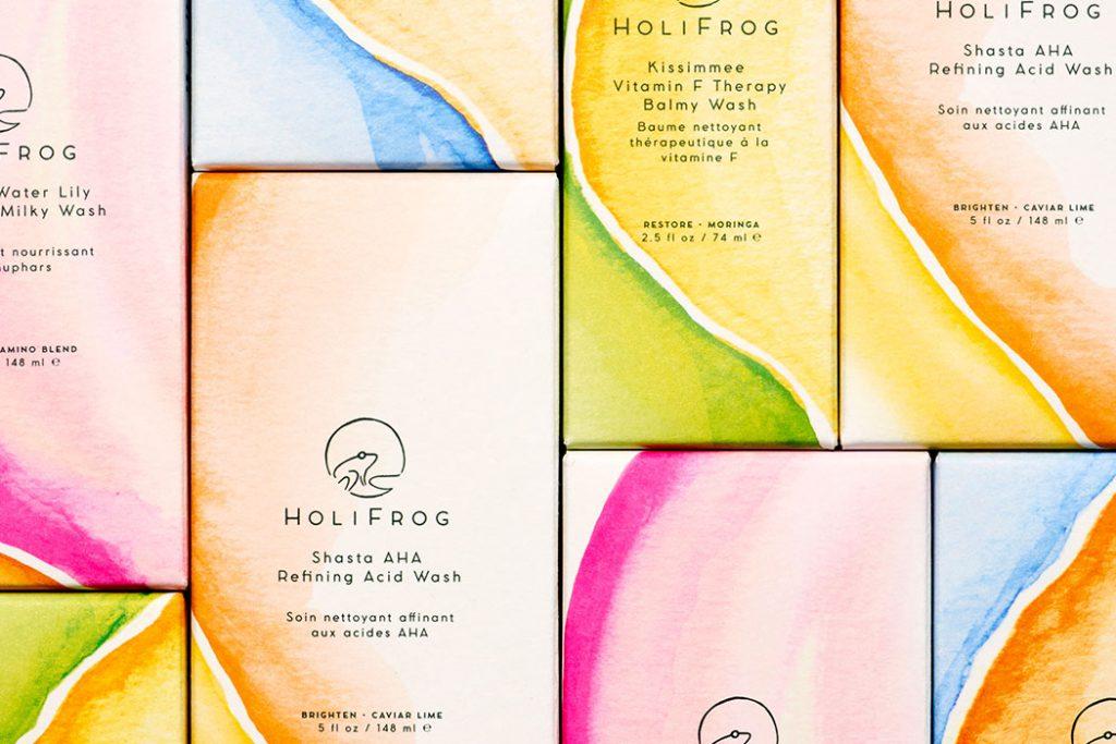 holifrog natural face washes