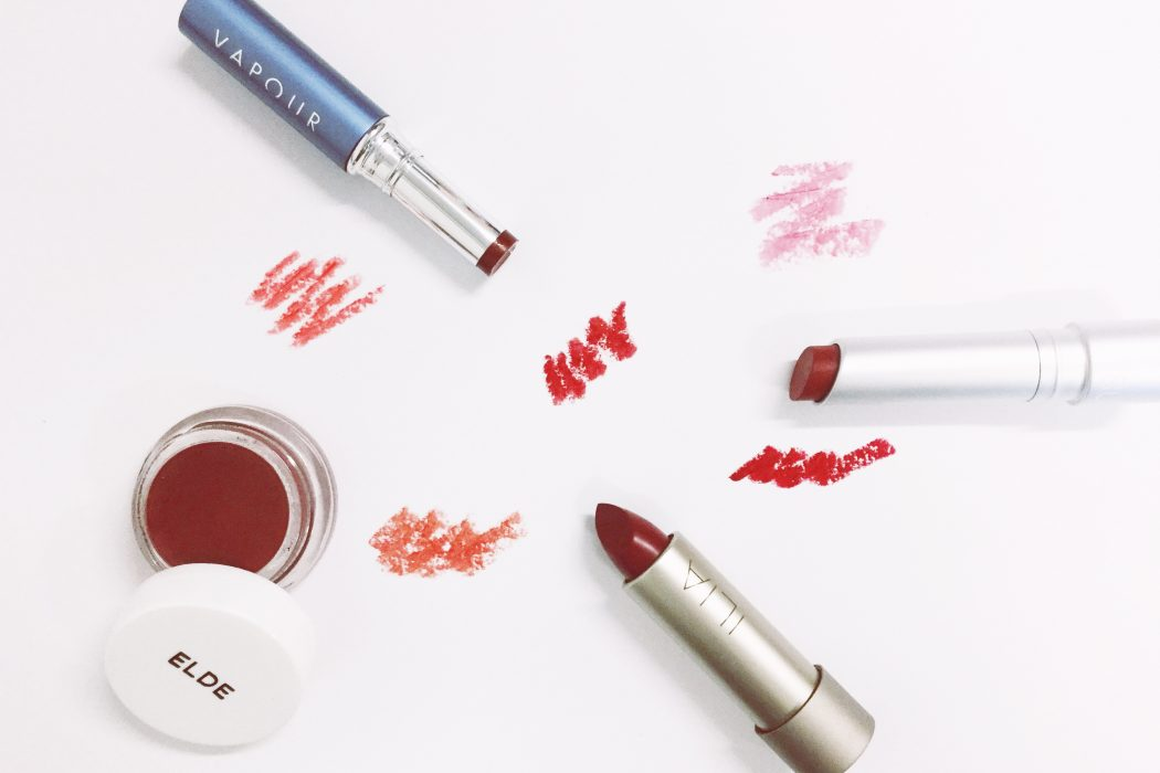 Red Natural Lipstick and how to wear it | Find the best natural and organic lipsticks online with free worldwide shipping or try on instore at organic makeup London shop CONTENT Beauty & Wellbeing
