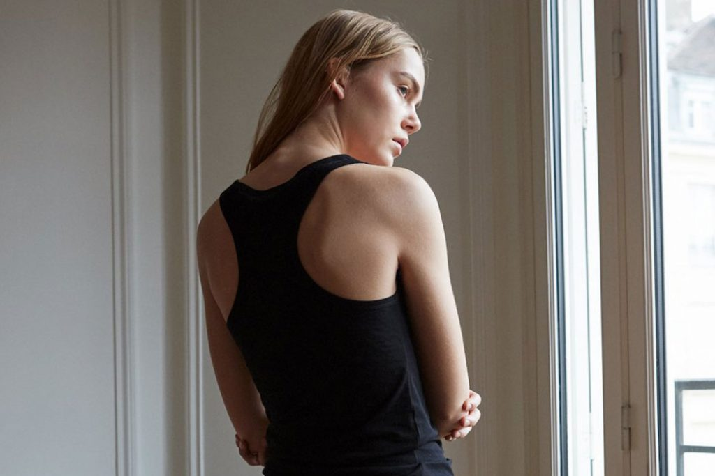 The White Briefs Aloes Singlet | Sustainable Clothes at Content Beauty
