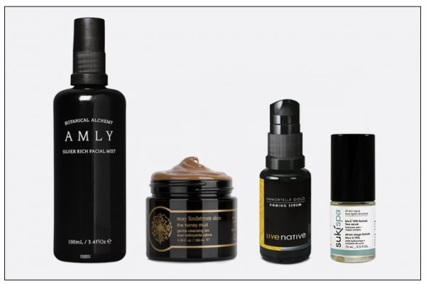 Natural skin care containing metals from May Lindstrom and Amly