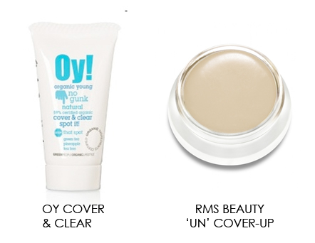 Organic and Natural Concealers