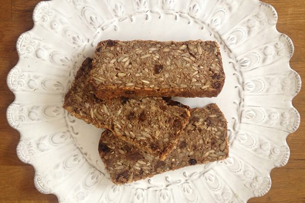 Maca Fruit & Nut Seed Bread Recipe